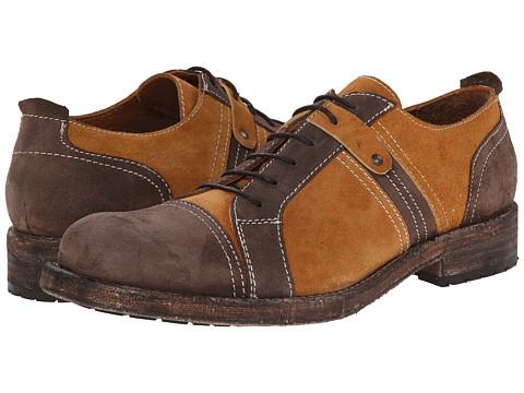 Messico - Lucian (Honey/Brown Vintage Suede) Men's Dress Flat Shoes