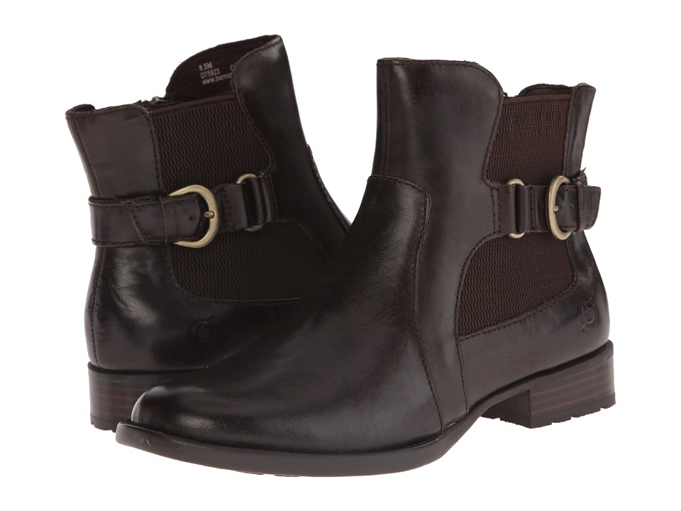 Born Stewart (Mushroom/Dark Brown Full Grain Leather) Women