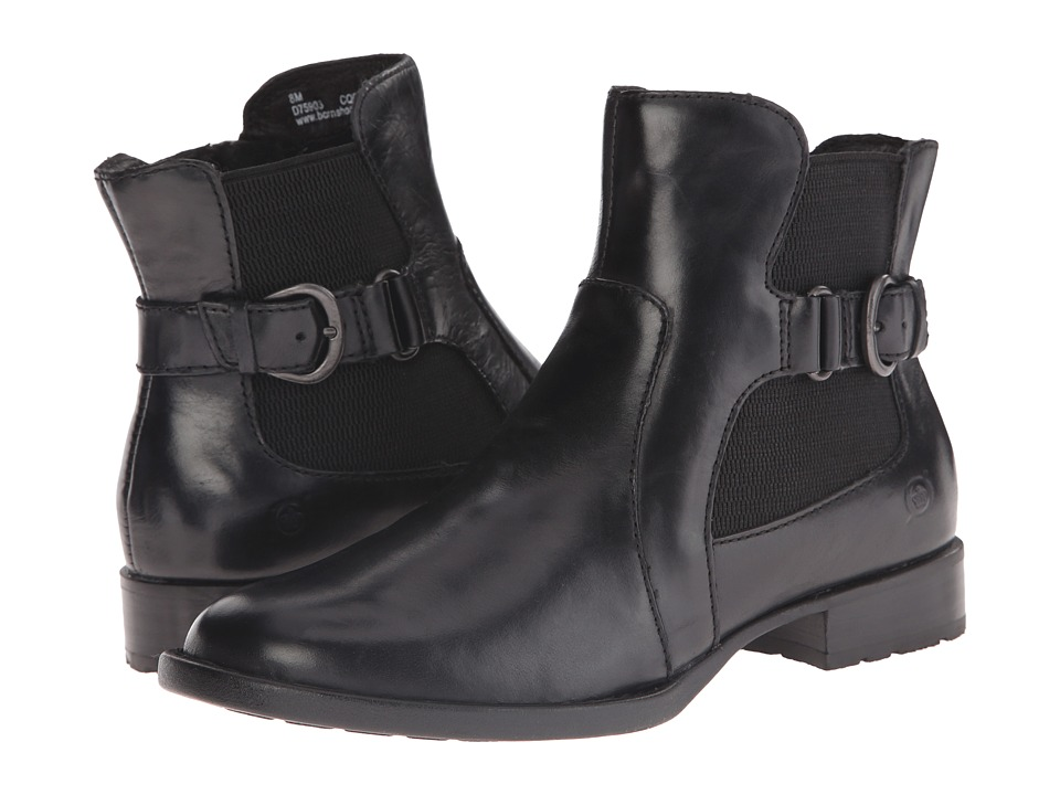 Born - Stewart (Black Full Grain Leather) Women's Boots
