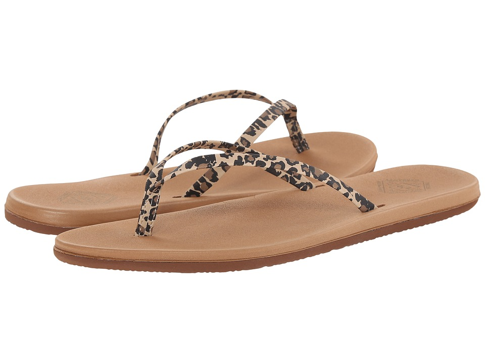 Freewaters - Nikki (Leopard Print/Tan) Women's Shoes