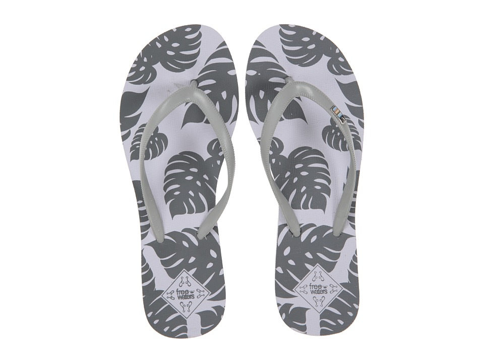 Freewaters Tropea Print (Silver/Grey Print) Women