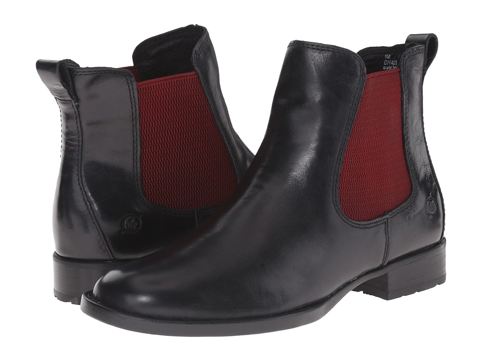 Born - Steele (Black Full Grain Leather) Women