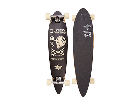 Dusters - Moto Longboard (Black) Skateboards Sports Equipment