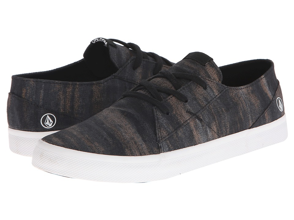 Volcom - Lo Fi (Stoney Black) Women's Lace up casual Shoes