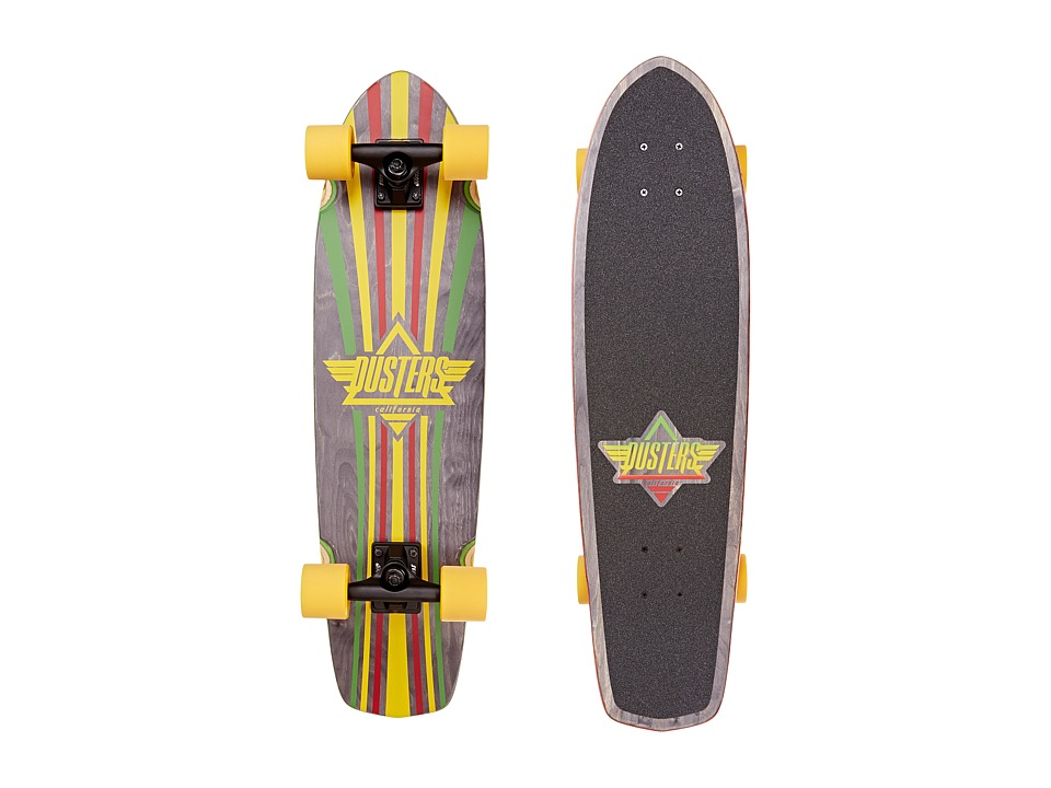 Dusters - Keen (Rasta) Skateboards Sports Equipment