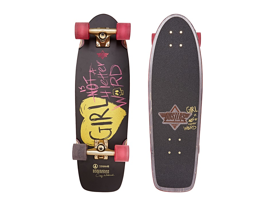 Dusters - GN4LW (Black) Skateboards Sports Equipment