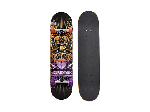 Darkstar - Manifest Full Complete (Purple/Yellow) Skateboards Sports Equipment