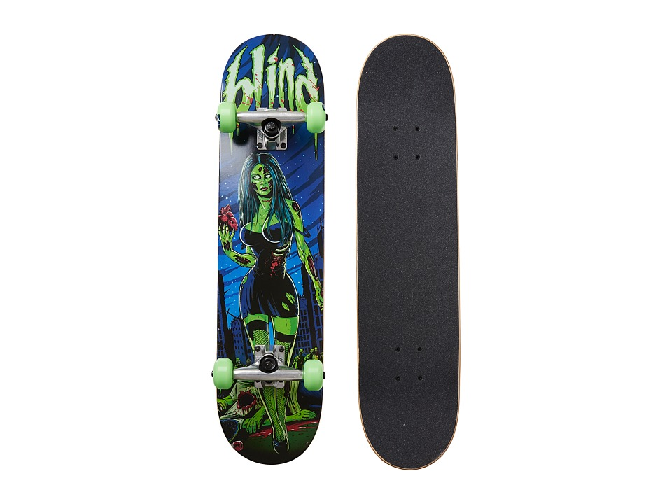 Blind - Maneater Complete (Green/Blue) Skateboards Sports Equipment