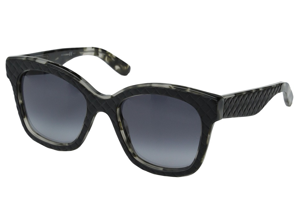 Bottega Veneta - BV 297 (Black Havana/Gray Gradient) Fashion Sunglasses