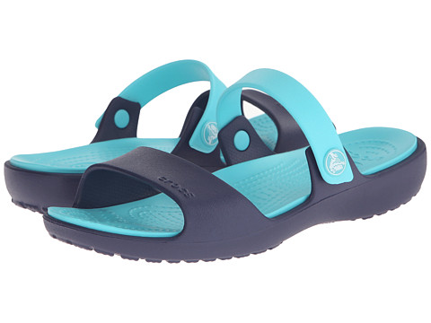 Crocs - Coretta Sandal (Nautical Navy/Pool) Women's Sandals