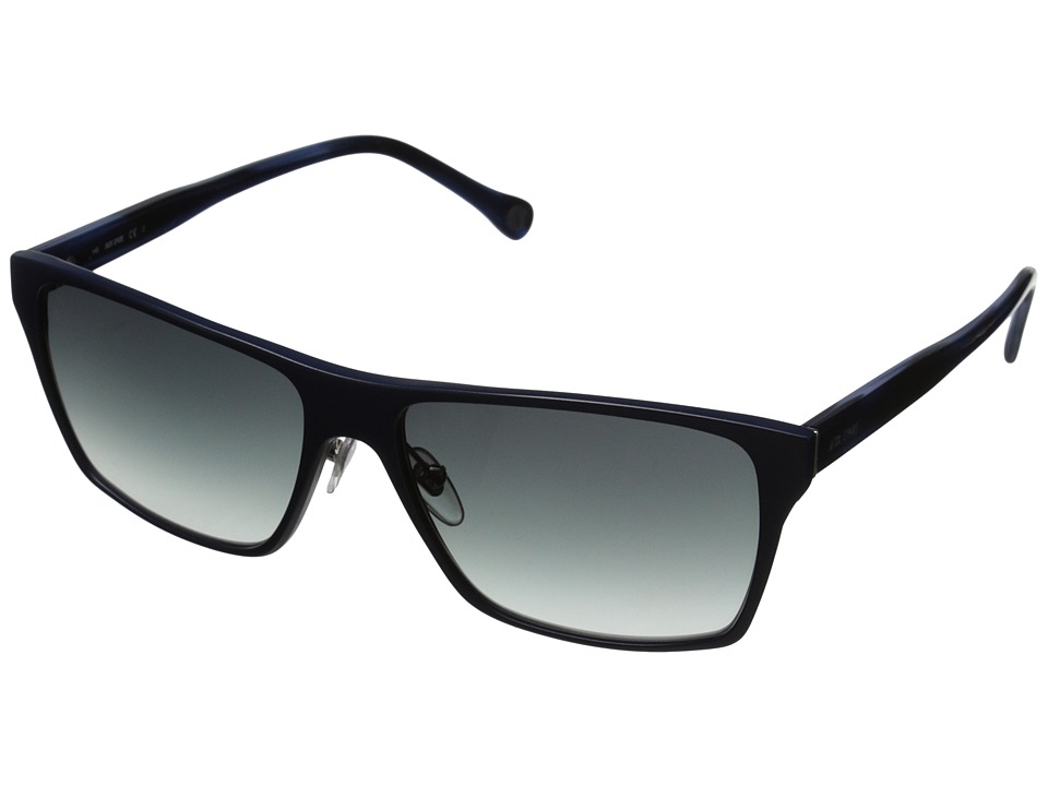 Jack Spade - Hughes/S (Satin Navy/Navy Gradient) Fashion Sunglasses