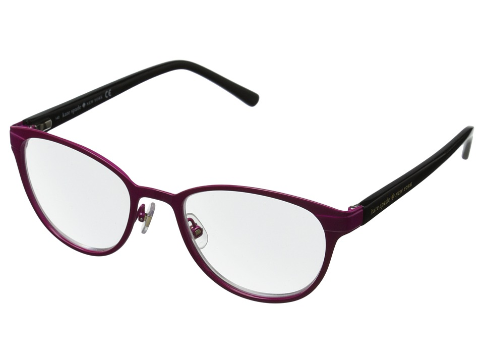 Kate Spade New York - Ebba (Pink Black) Reading Glasses Sunglasses