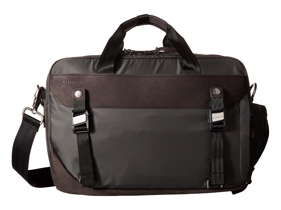 Timbuk2 - Strada Messenger Bag - Medium (Charcoal) Messenger Bags