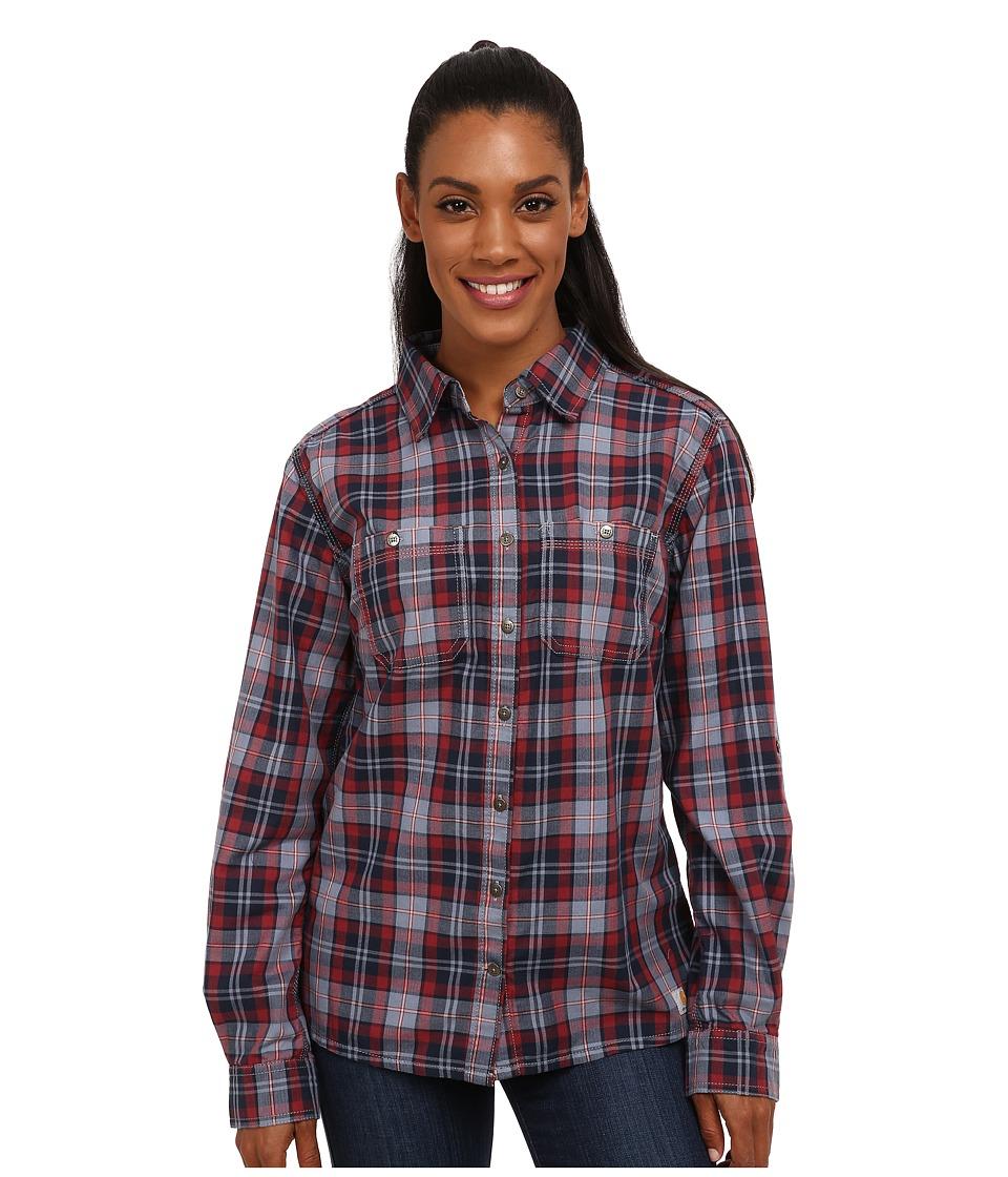 Carhartt - Dodson Shirt (Flint Stone) Women's Clothing