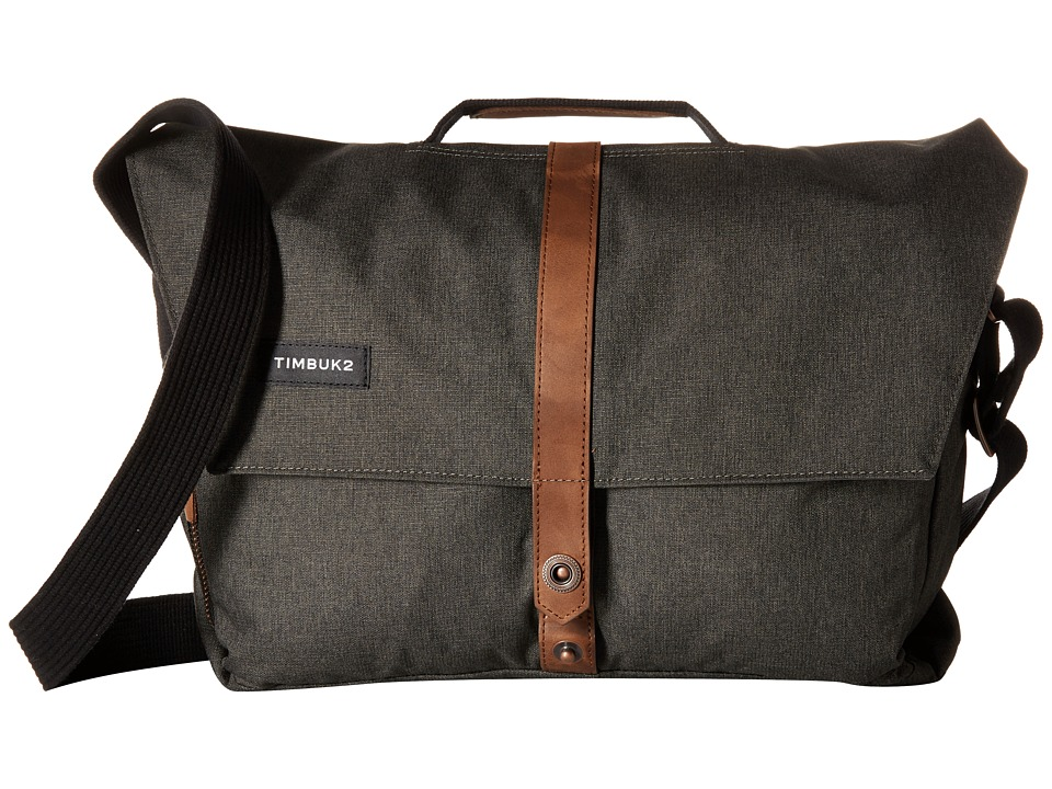 Timbuk2 - Sunset Messenger Bag - Small (Black/Poly Chambray) Messenger Bags