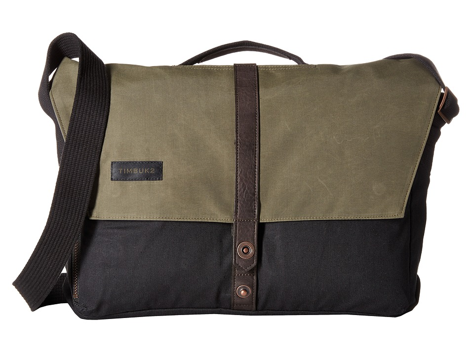 Timbuk2 - Sunset Messenger Bag - Small (Green/Black) Messenger Bags