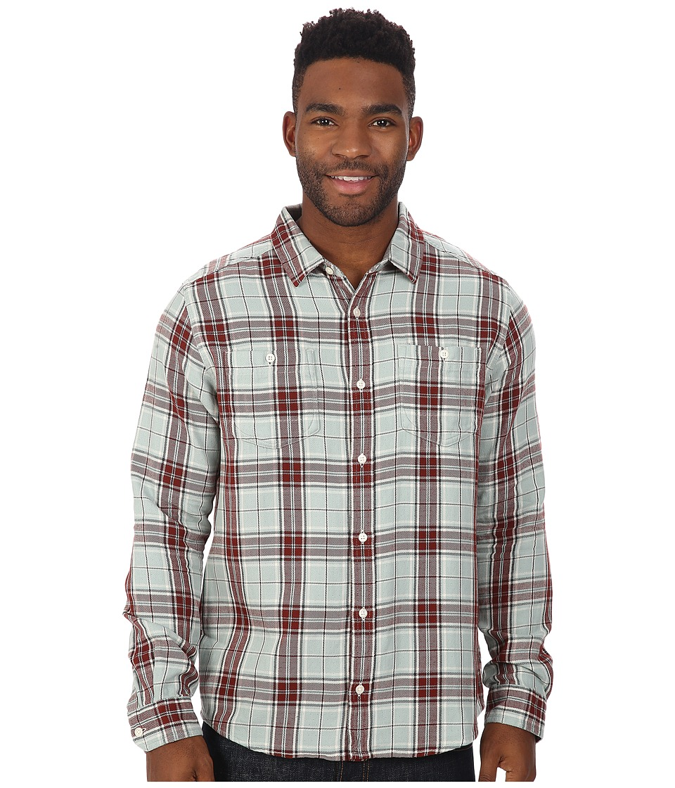 Toad&Co - Dually Long Sleeve Shirt (Arctic) Men's Long Sleeve Button Up