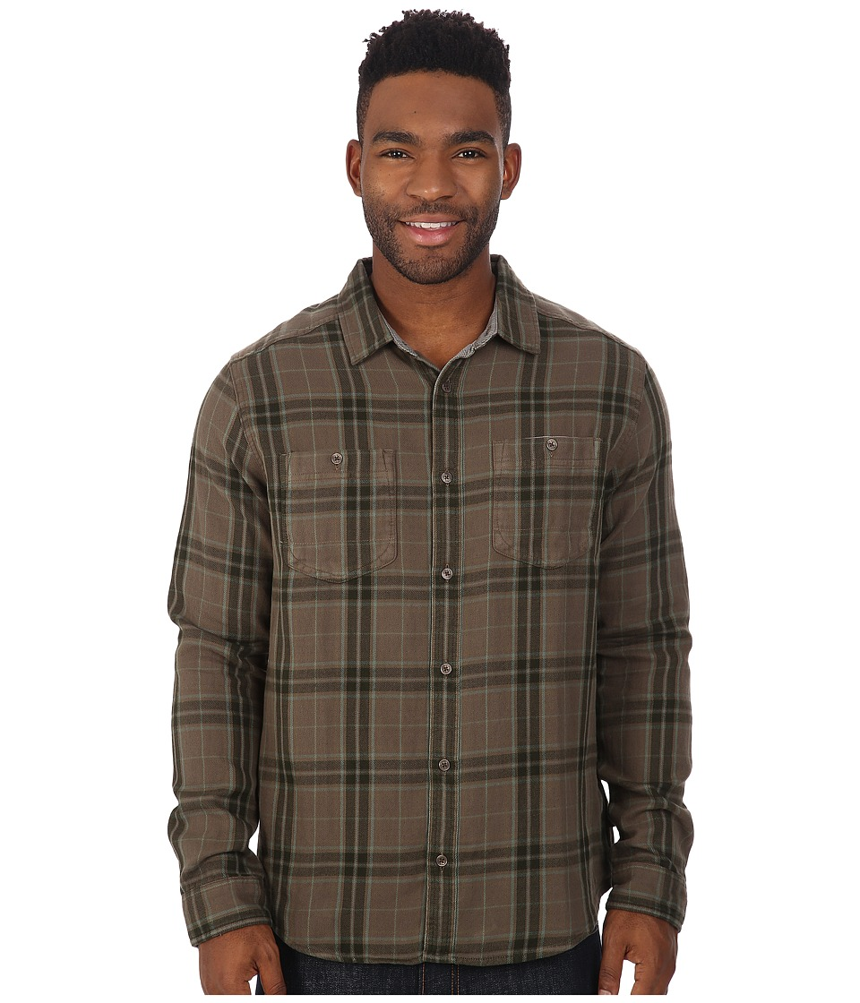 Toad&Co - Dually Long Sleeve Shirt (Jeep) Men's Long Sleeve Button Up