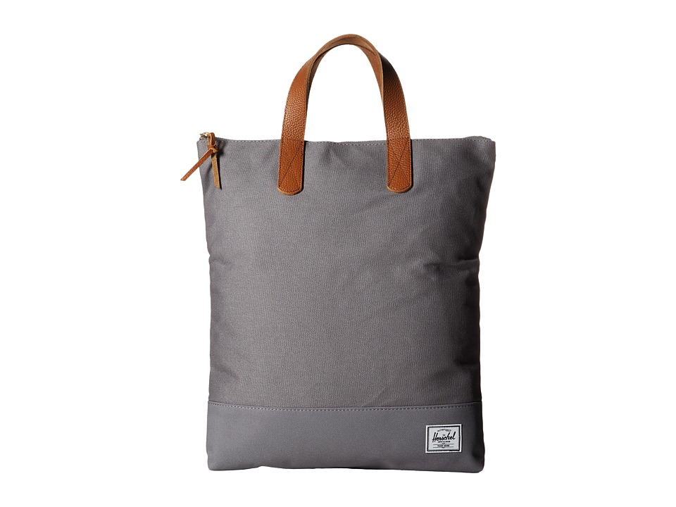 Herschel Supply Co. - Willmore (Grey Cotton Canvas) Bags