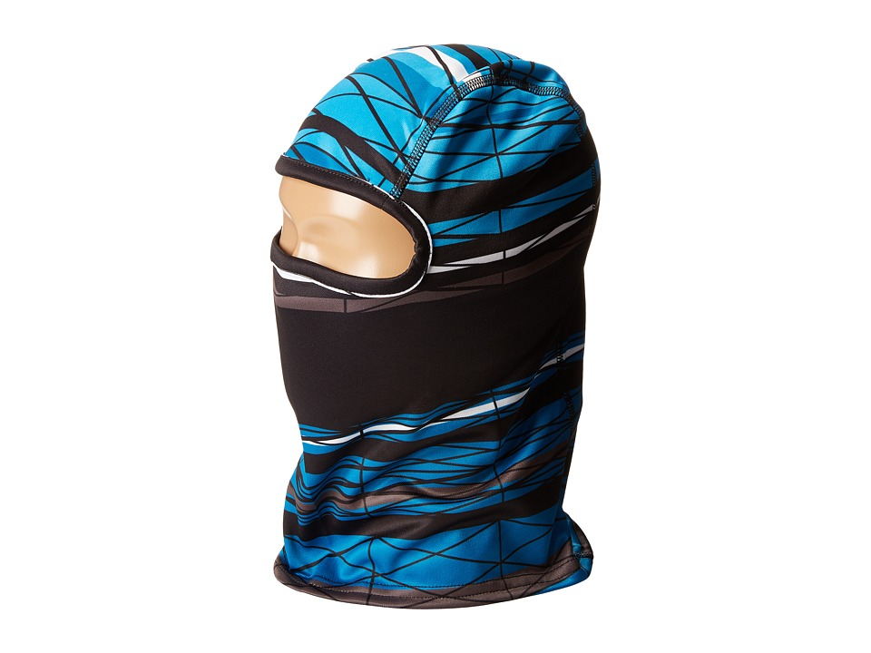 Spyder Kids - T-Hot Balaclava (Big Kids) (Electric Blue/Electric Blue Scaffolding/Black) Cold Weather Hats