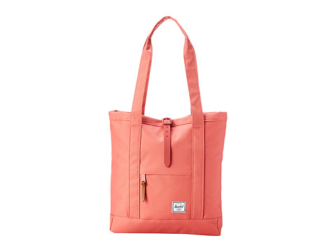 Herschel Supply Co. - Market (Flamingo/Flamingo Rubber) Tote Handbags