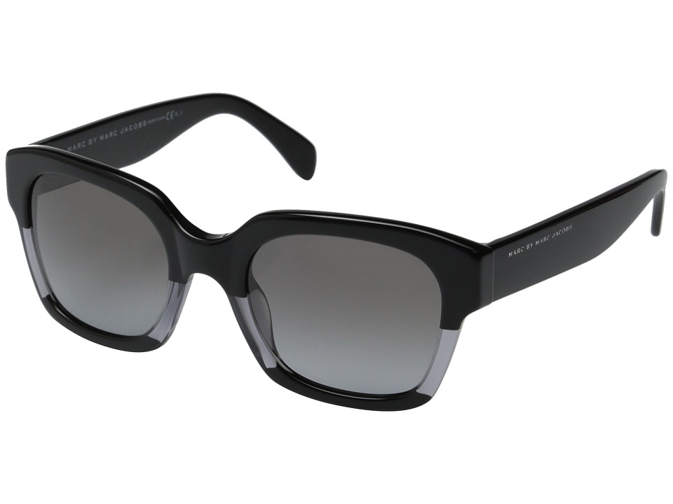 Marc by Marc Jacobs - MMJ 457/S (Black Grey Black Black/Smoke Gradient) Metal Frame Fashion Sunglasses