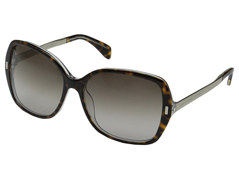 Marc by Marc Jacobs - MMJ 462/S (Havana Crystal Gold/Brown Gradient) Metal Frame Fashion Sunglasses