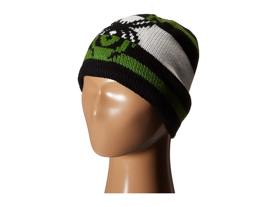 Spyder Kids - Mission Hat (Big Kids) (Black/ Mountain Top/White) Beanies