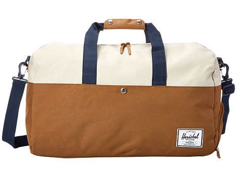 Herschel Supply Co. - Lonsdale (Caramel/Natural/Navy) Duffel Bags