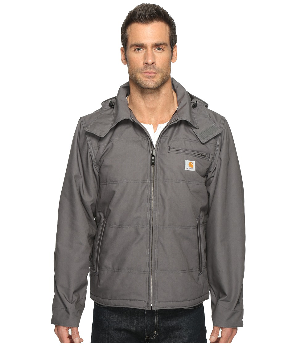 Carhartt - Quick Duck Livingston Jacket (Charcoal) Men's Coat