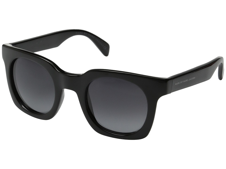 a5a4f57c5a7f ... Square Sunglasses, Shiny Black UPC 762753465931 product image for Marc  by Marc Jacobs - MMJ 474/S (Shiny