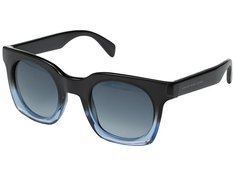 Marc by Marc Jacobs - MMJ 474/S (Shaded Blue Dark Blue/Dark Blue Gradient) Metal Frame Fashion Sunglasses