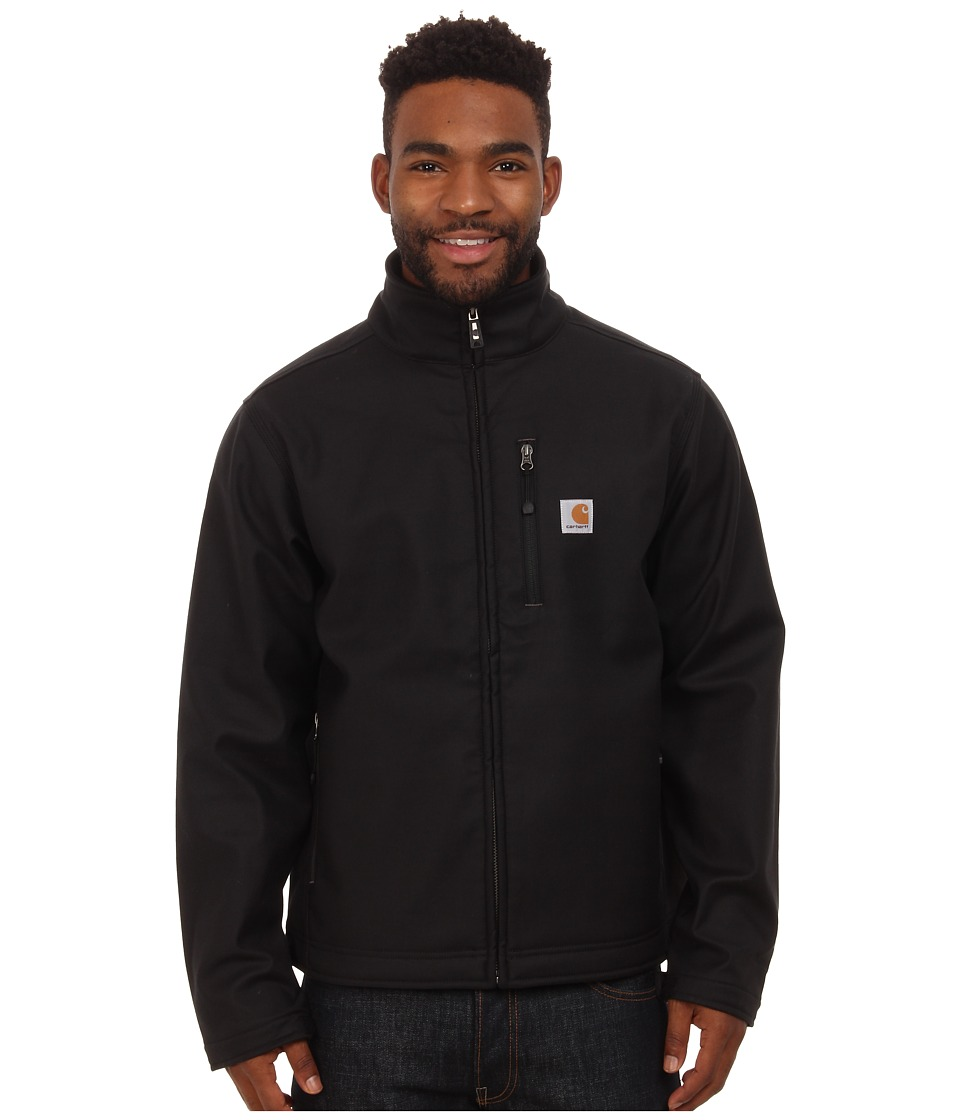 Carhartt - Big Tall Quick Duck Pineville Jacket (Black) Men's Coat