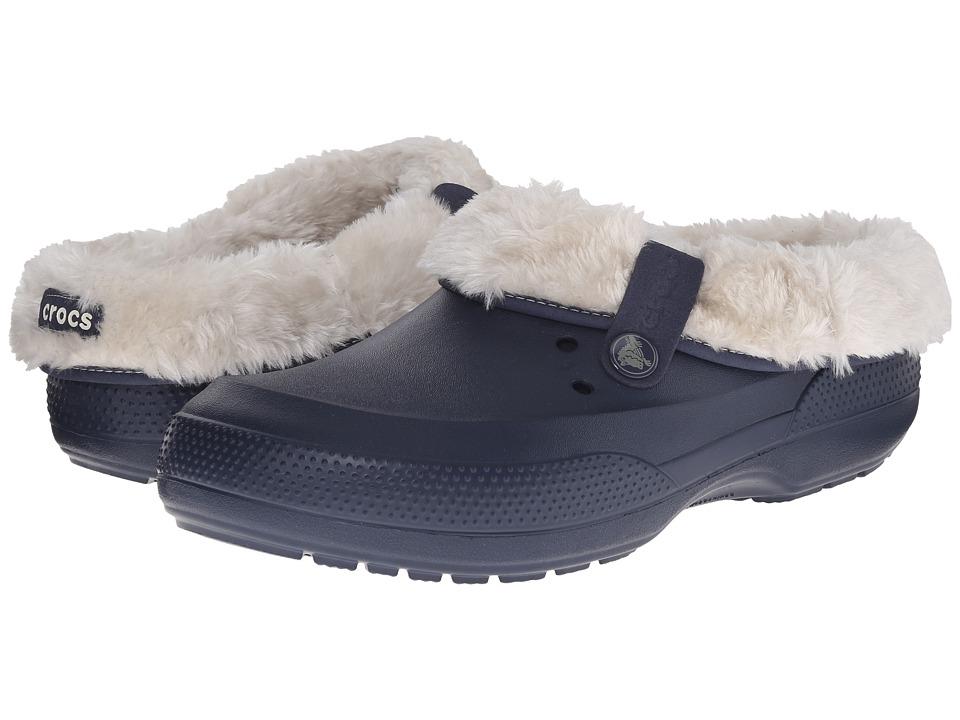 Crocs - Blitzen II Luxe Clog (Navy/Stucco) Clog Shoes