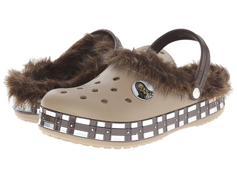 Crocs - CB Star Wars Chewbacca Lined Clog (Khaki) Clog Shoes