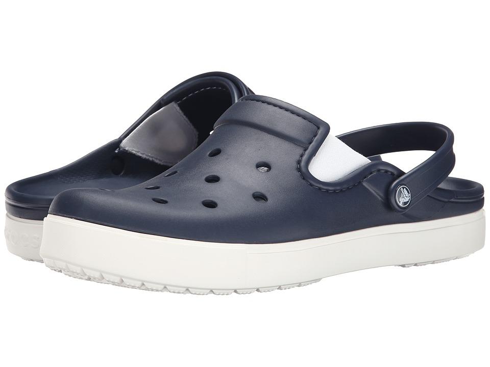 Crocs CitiLane Clog (Navy/White) Clog Shoes