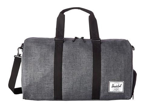 Herschel Supply Co. - Novel (Charcoal Crosshatch/Black) Duffel Bags