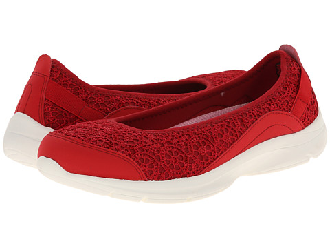 Easy Spirit - Esquelle (Medium Red/Medium Red Fabric) Women's Shoes