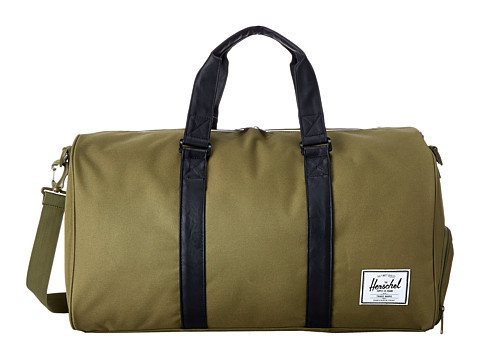 Herschel Supply Co. - Novel (Army/Black 1) Duffel Bags