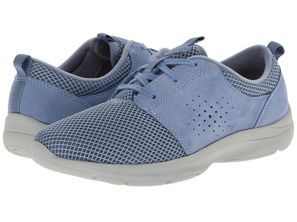Easy Spirit - Esquickrun (Medium Blue/Medium Blue Suede) Women's Shoes