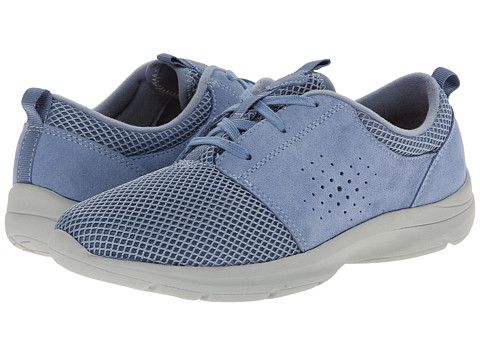 Easy Spirit - Esquickrun (Medium Blue/Medium Blue Suede) Women