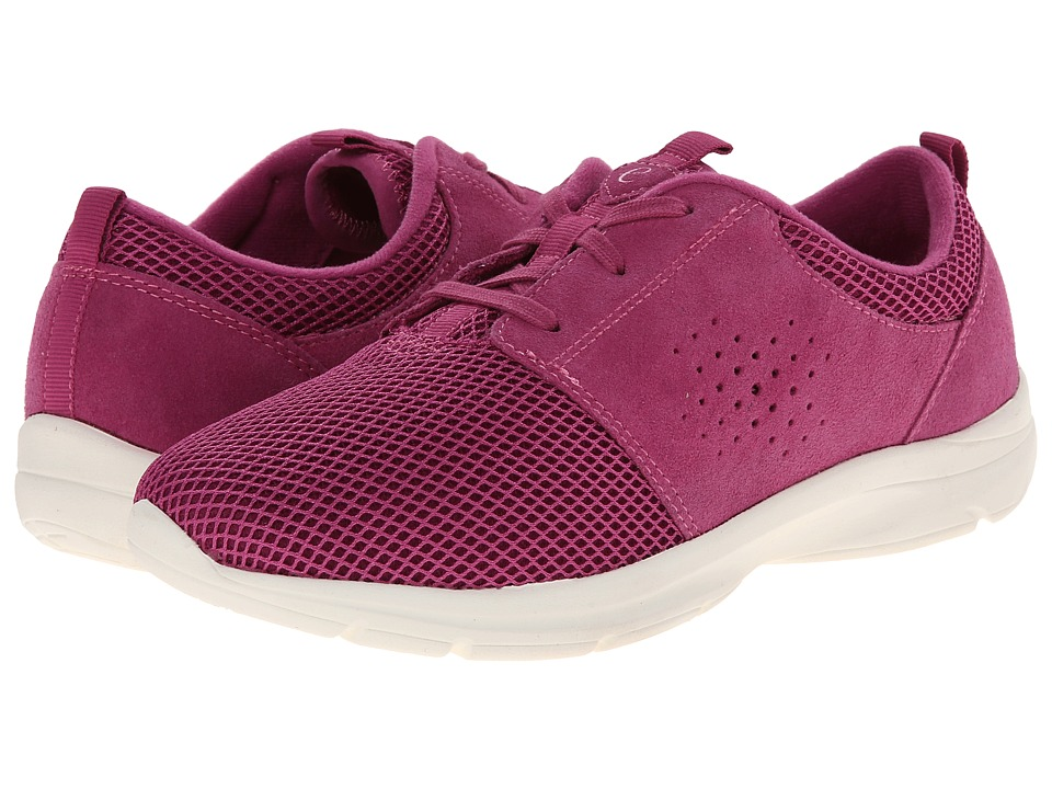 Easy Spirit - Esquickrun (Dark Pink/Dark Pink Suede) Women's Shoes