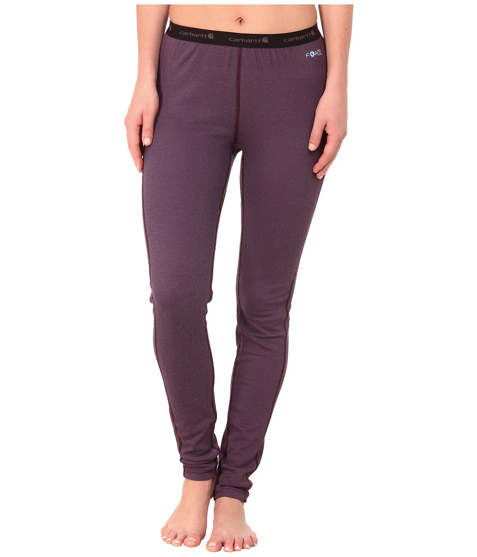 Carhartt - Base Force Cold Weather Bottom (Plum) Women's Casual Pants
