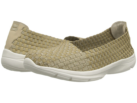 Easy Spirit - Esquillar (Light Gold/Light Natural Fabric) Women