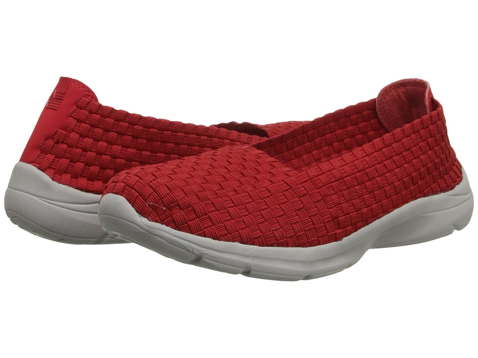 Easy Spirit - Esquillar (Dark Red Multi Fabric) Women's Shoes