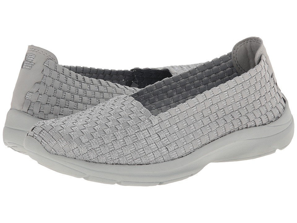 Easy Spirit - Esquillar (Silver/Light Grey Fabric) Women