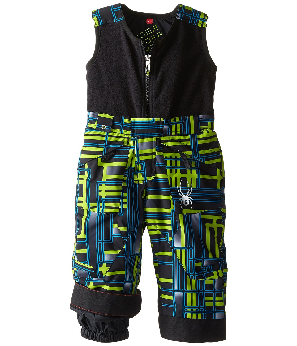 Spyder Kids - Mini Expedition Pants (Toddler/Little Kids/Big Kids) (Theory Green Routed Print/Theory Green Routed Print) Boy's Suits Sets