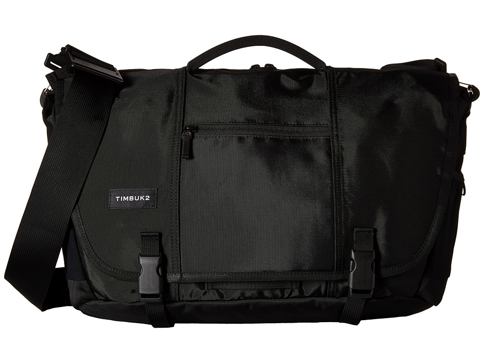Timbuk2 - Commute Messenger Bag - Medium (Black) Messenger Bags
