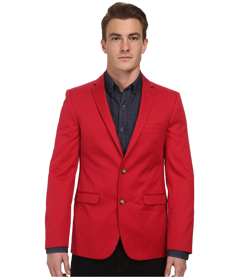 Moods of Norway - Stein Tonning Suit Jacket 151244 (Dark Red) Men's Jacket