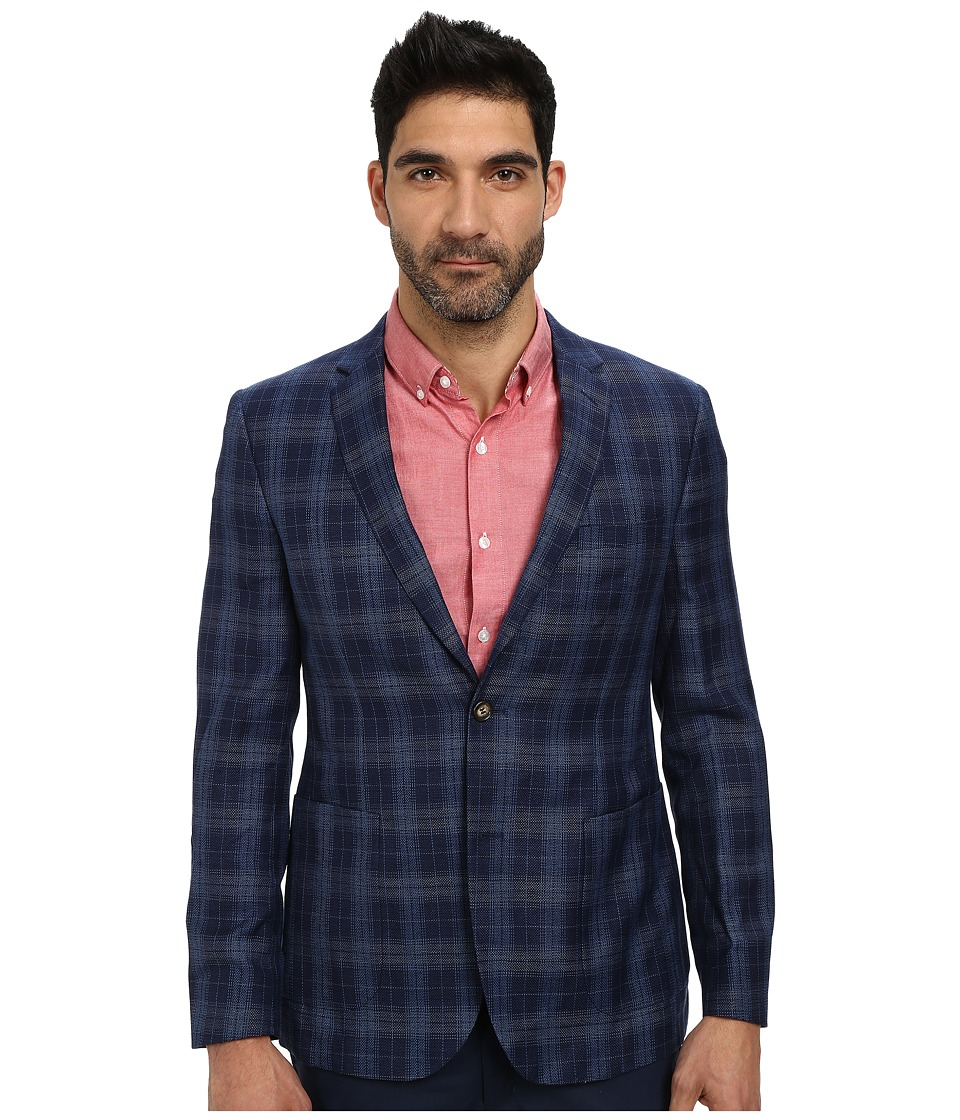 Moods of Norway - Jonas Tonning Suit Jacket 151377 (Cerulean) Men's Jacket